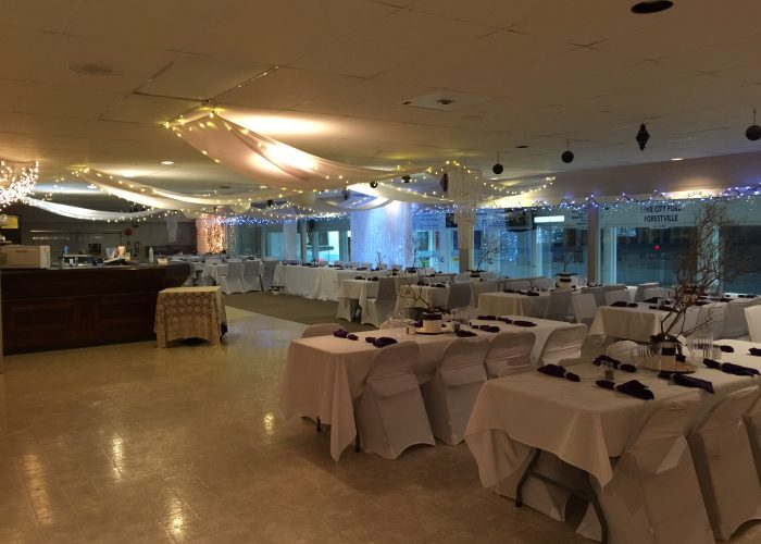 Renting the Williams Lake Curling Club for Weddings