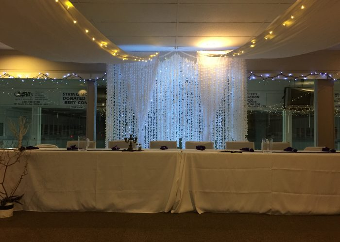 Weddings Rentals of the Williams Lake Curling Club